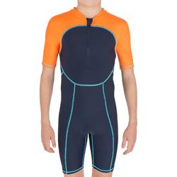 Short jongens Swim Boy blauw/oranje - 801987