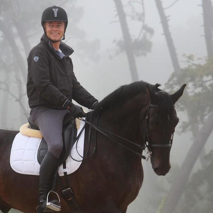 Set bride + rênes équitation cheval BEAUVALAIS noir - 802295