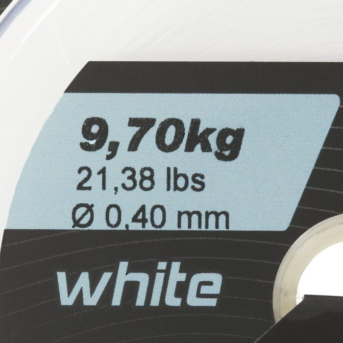 FIL DE PÊCHE LINE ABRASION WHITE 1000 M