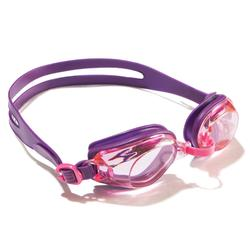 100 AMA Swimming Goggles, Size S Purple Pink