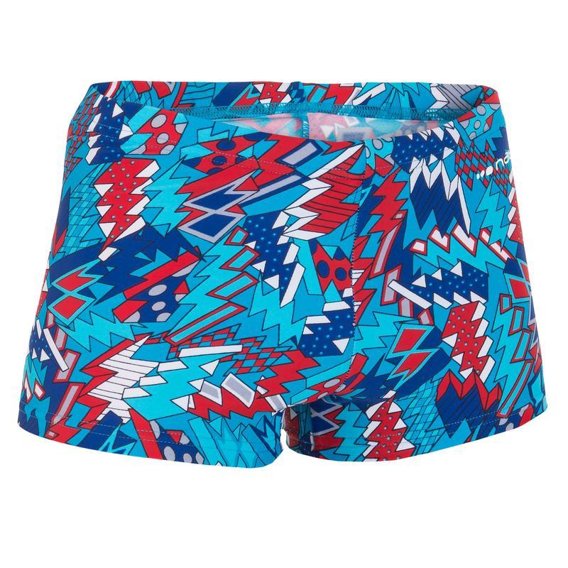 B-Active Allbuzbo Boys' Boxer Swim Shorts - Red