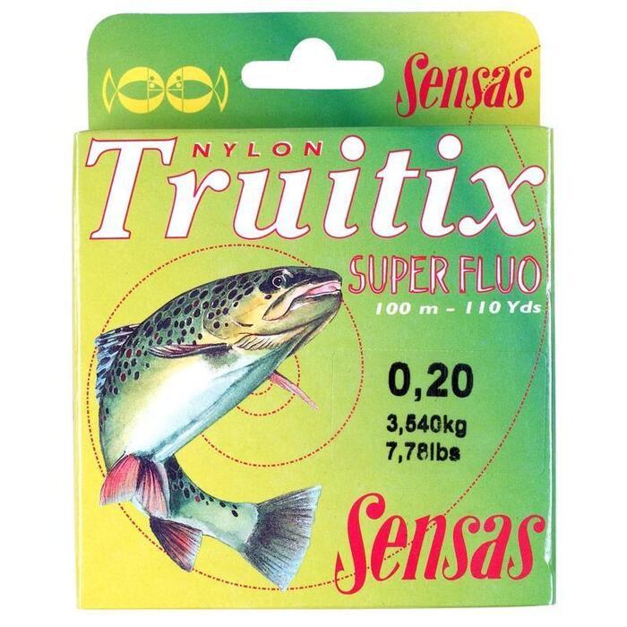 Vislijn forelvissen Truitix Super Fluo 20/100 100 m