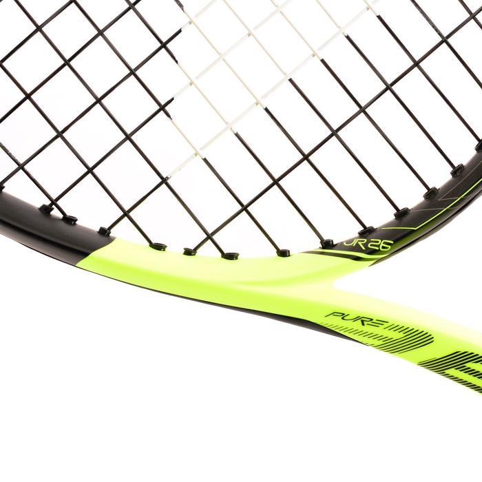 Tennisracket kinderen Babolat Pure Aero 26 zwart geel - 802672