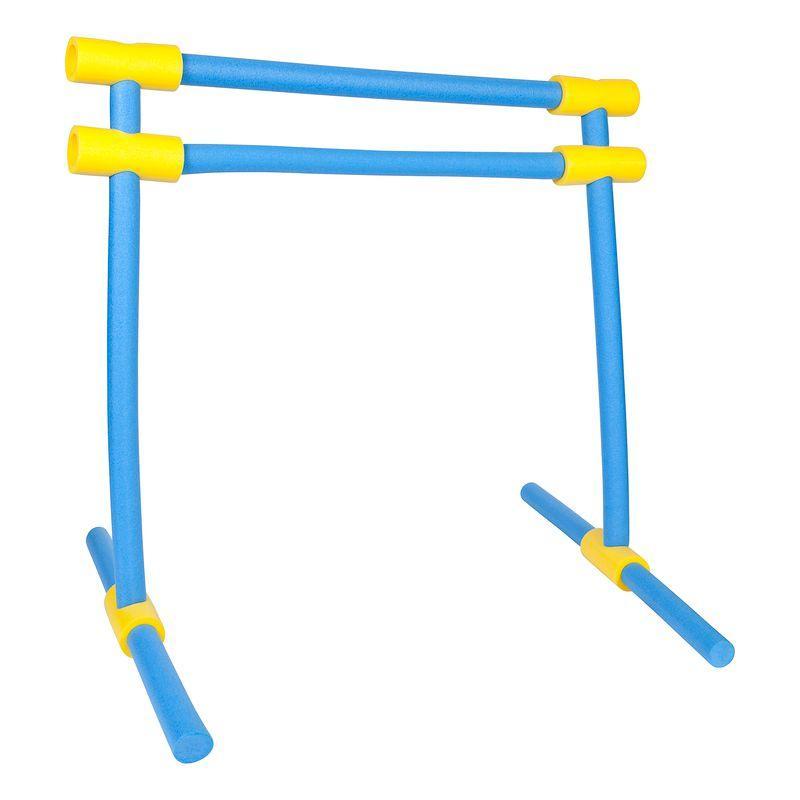 Multiconector de flotadores de espuma amarillo