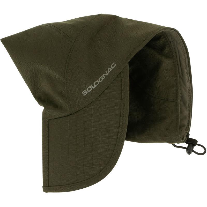 หมวกสำหรับส่องสัตว์กันน้ำแบบพับได้ (สีเขียว)