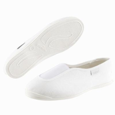 Rythm 300 Kids' School Gym Shoes - Plimsolls - White