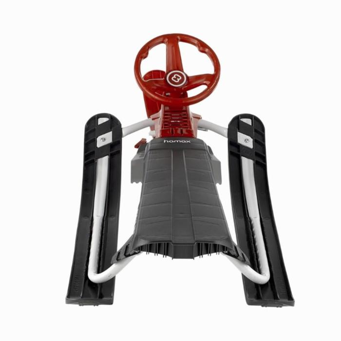 Luge Snowblade noir / rouge enfant biplace avec frein