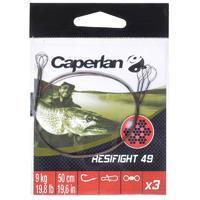 RESIFIGHT 49 2 LOOPS 9KG predator fishing leader