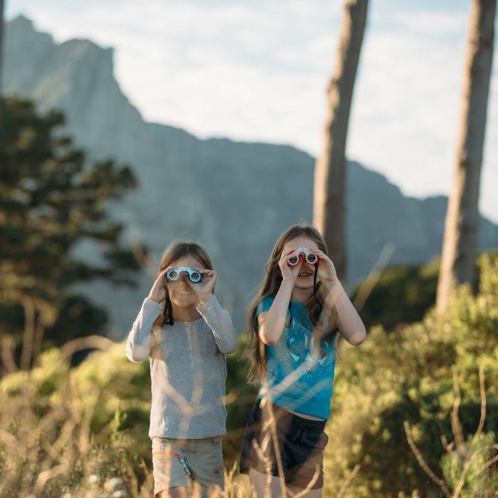 Jumelles randonnée enfant sans réglage MH B 100 grossissement x6 - 803569