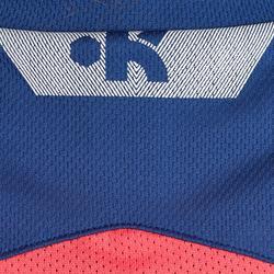 Basketbalshirt B500 mouwloos dames - 803682