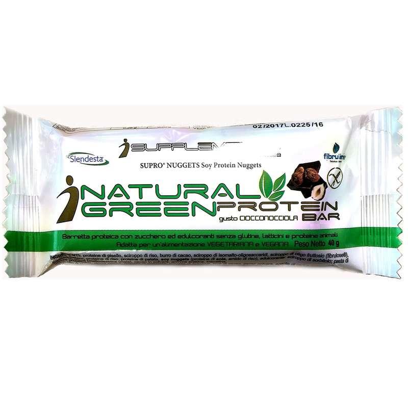 BARRETTE, GEL E RECUPERO Alimentazione - Natural Green Protein 23% Ciok ISUPPLEMENTS - Alimentazione