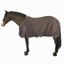 Staldeken Stable Light ruitersport pony en paard bruin - 803775