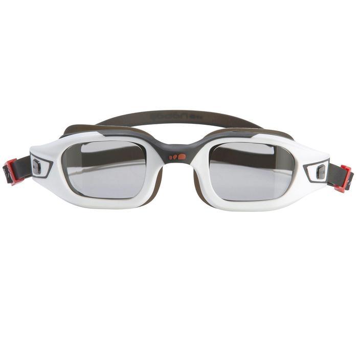 Lunettes de natation SELFIT PACK luminosité 3en1 taille S blanc noir - 803886