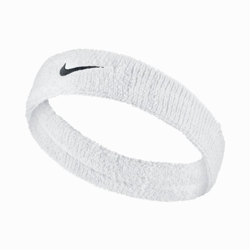 Nike Badstof hoofdband voor tennis Nike wit