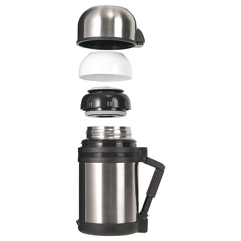 Stainless Steel Isothermal Hiking Food Flask 0.8 Litre