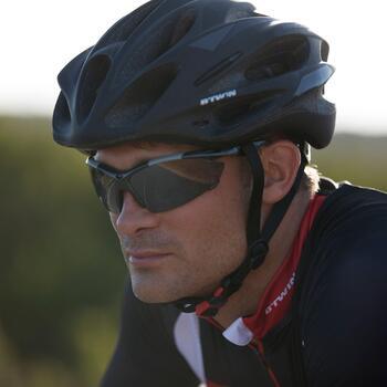 Lunettes de soleil vélo & running adulte ARROYO PACK grises verres changeables - 804117