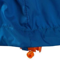 Regenjas voor natuurwandelen en hiking NH100 Raincut blauw heren