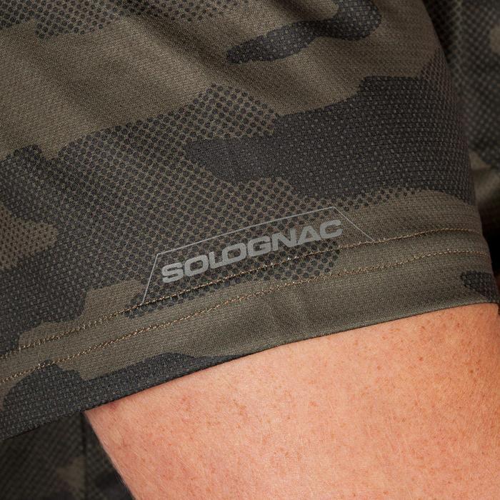 e61334f26 Camiseta Caza Solognac SG100 Manga Corta Transpirable Verde Solognac ...