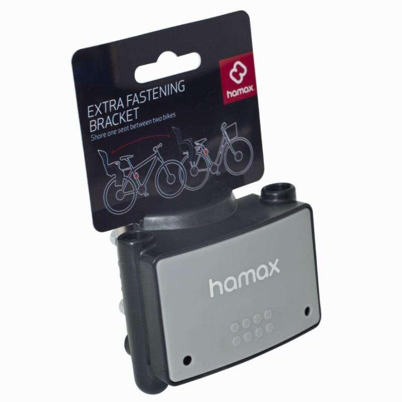 Kerékpáros gyerekülés Kerékpározás - Ülésrögzítő Hamax  HAMAX - Kerékpár kiegészítők