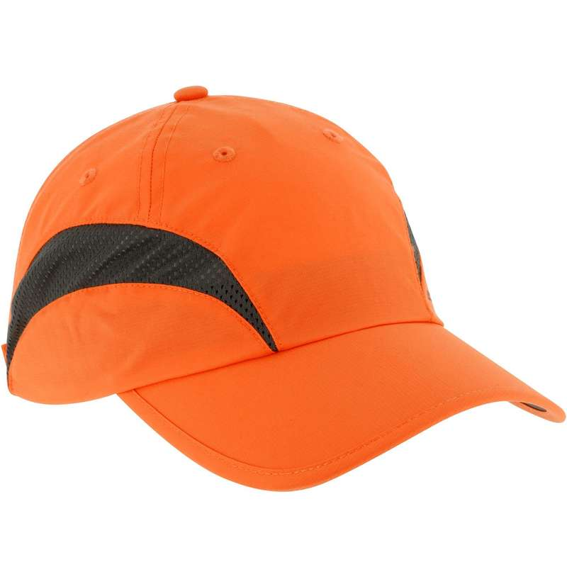 HIGH VIS ACCESSORIES Shooting and Hunting - CAP LIGHT ORANGE SOLOGNAC - Hunting and Shooting Clothing