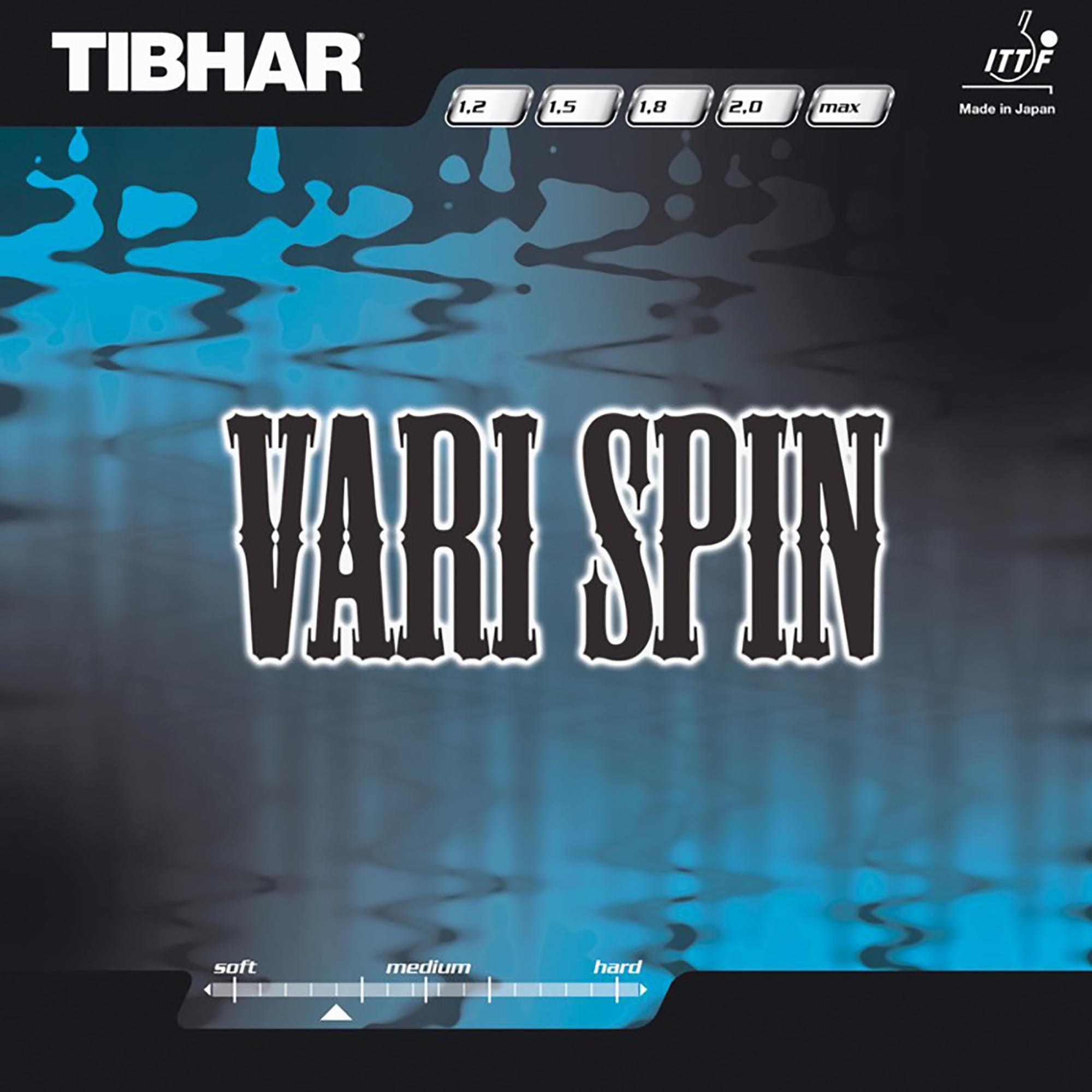 Tibhar Rubber voor tafeltennisbat Vari Spin