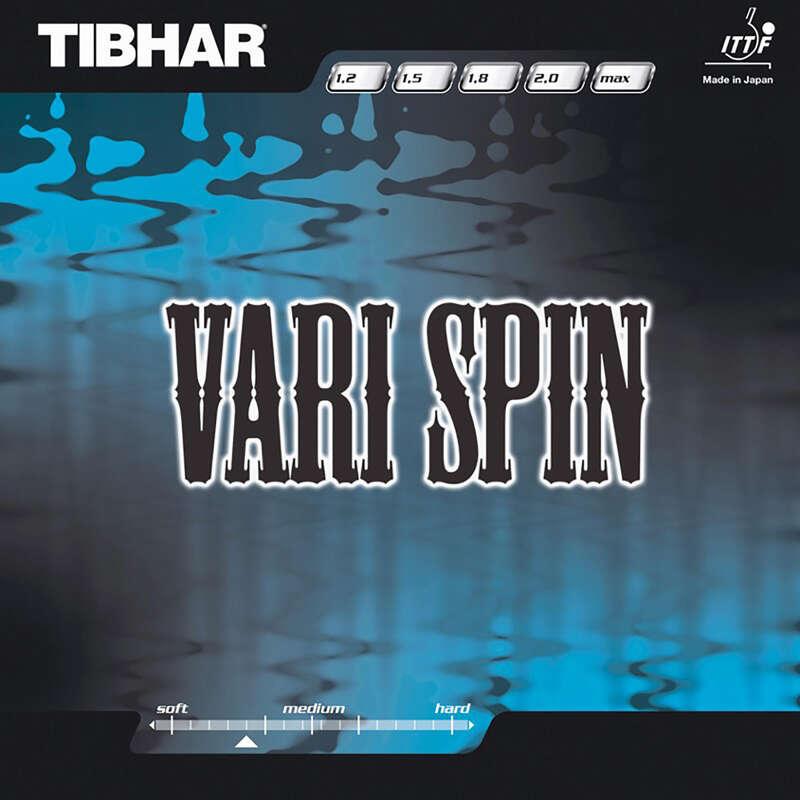 ACADEMIC BLADES & RUBBERS Table Tennis - Tibhar Vari spin Table Tennis Rubber TIBHAR - Table Tennis Accessories