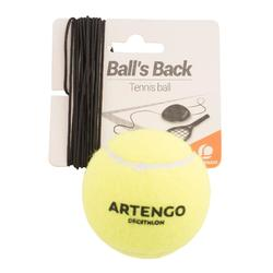 "Tennisbal en elastiek voor tennistrainer ""Ball is Back"""