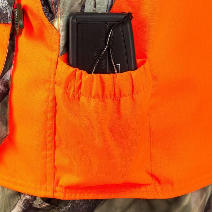 Vest Renfort 500 voor de jacht fluo camo - 805090