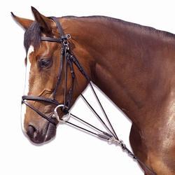 Gogue de equitação SCHOOLING castanho - tamanho pónei
