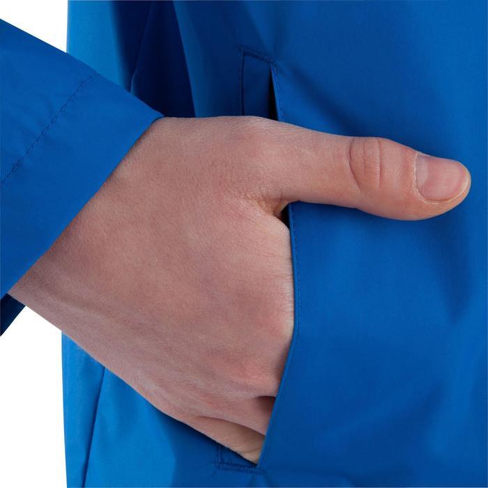Veste imperméable de football enfant T500 bleu - 805315
