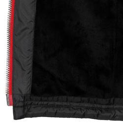 Damesbodywarmer Performer 500 ruitersport zwart en grijs visgraat - 805394