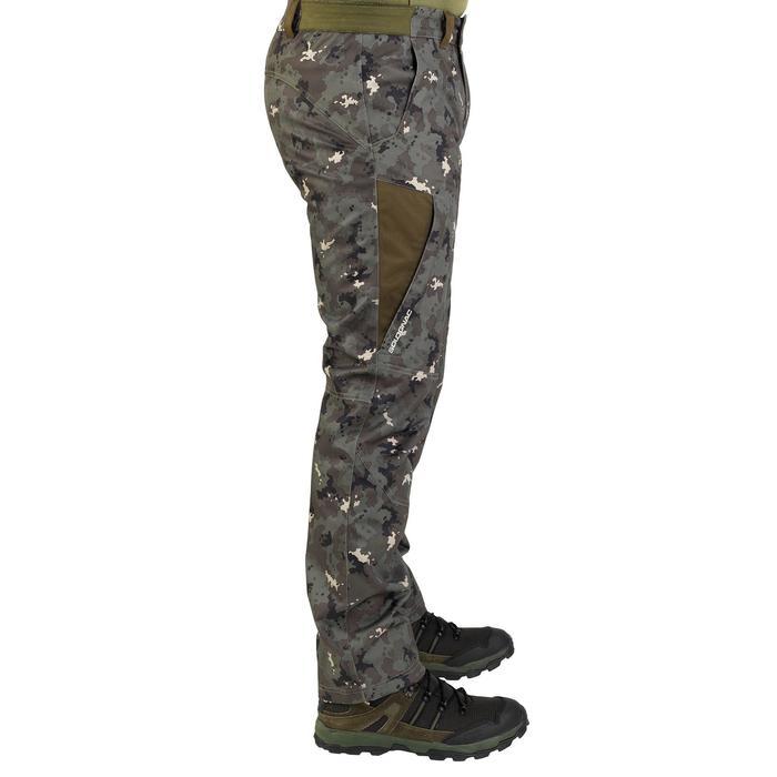Pantalon chasse imperméable chaud 500 - 805563