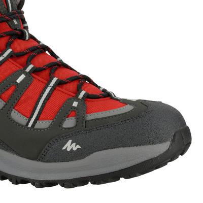 Chaussure Randonnée nature Quechua Arpenaz 100 Mid Imperméable Homme