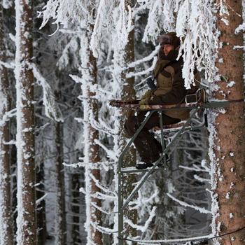 Jagd-Pelzmütze Toundra 500 braun