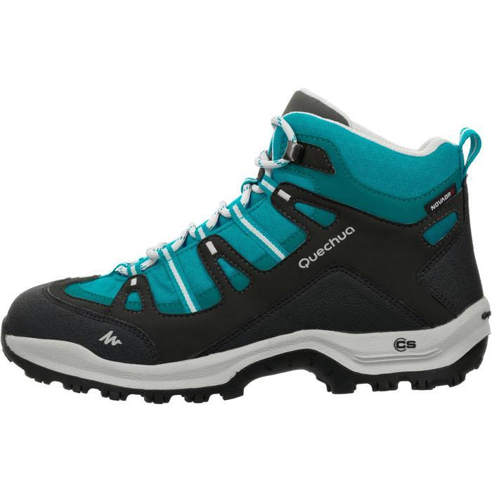 Chaussures de randonnée Nature femme Arpenaz 100 mid imper violette. - 80617