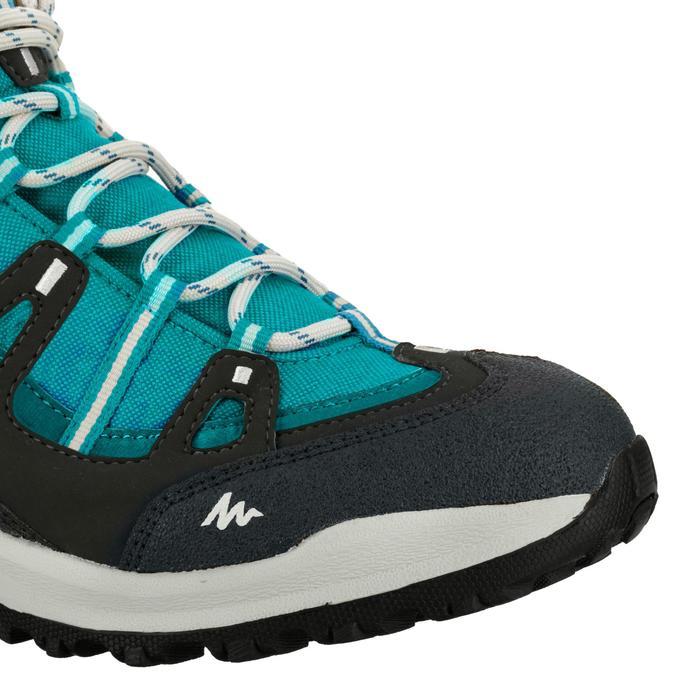 Chaussures de randonnée Nature femme Arpenaz 100 mid imper violette. - 80619