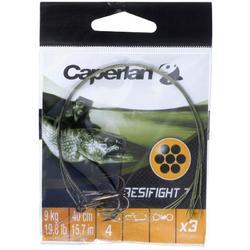 Avançon pêche carnassier RESIFIGHT 7 hameçon triple 12KG