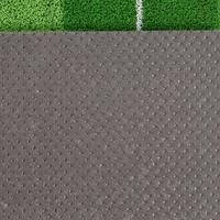 Putting mat with ball return