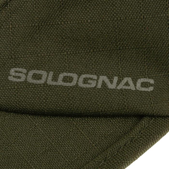 Gorra Caza Solognac Impermeable Plegable Verde