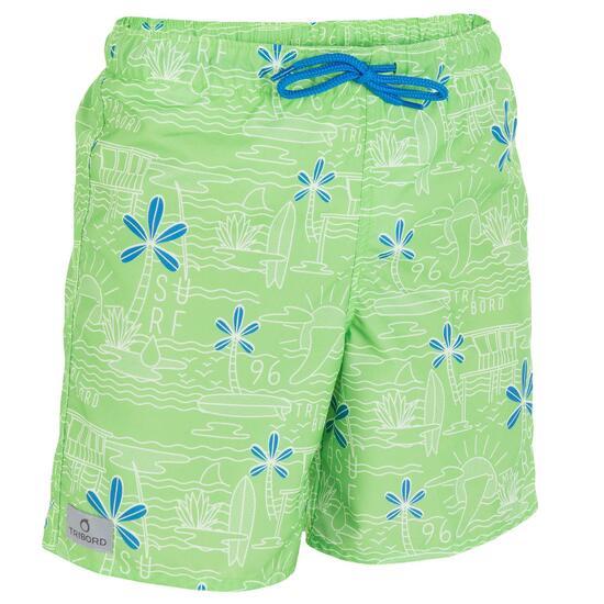 Korte boardshort voor jongens Joko Beach - 806821