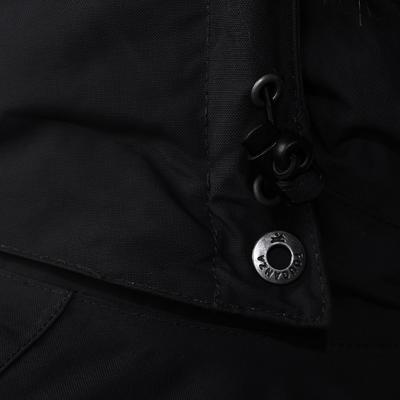 רכיבה - ז'קט חם לנשים מדגם Paddock - אפור כהה