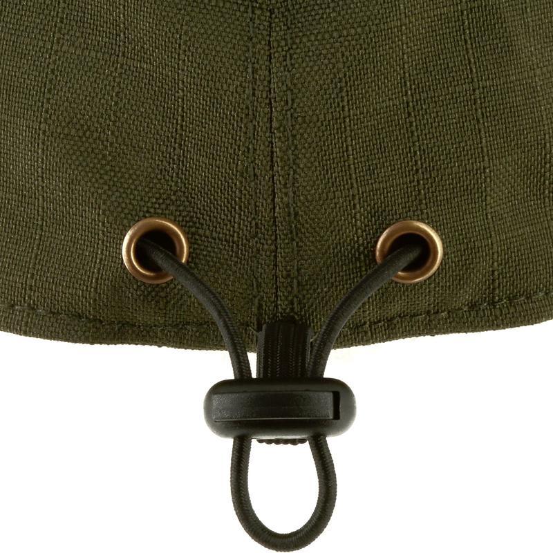 Folding waterproof hunting hat - green