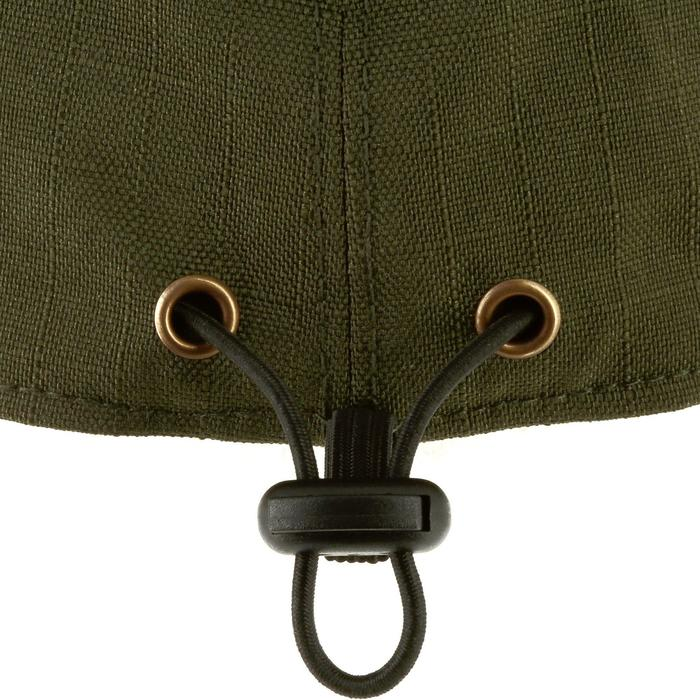 Jagd-Schirmmütze wasserdicht faltbar grün
