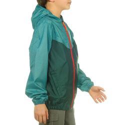 Jongens regenjack voor wandelen Hike 100 - 806967