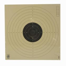 Schietschijf voor luchtdrukpistool op 10 meter (17x17 cm)