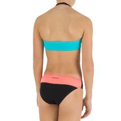 Bandeaubikini Color Block voor meisjes - 807140