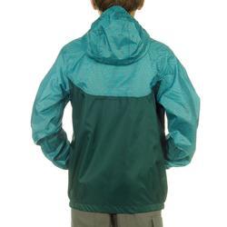 Jongens regenjack voor wandelen Hike 100 - 807250