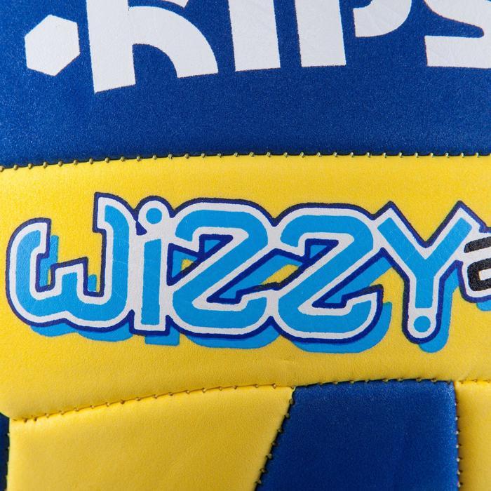 Ballon de volley-ball Wizzy 260-280g blanc et bleu à partir de 15 ans - 807386