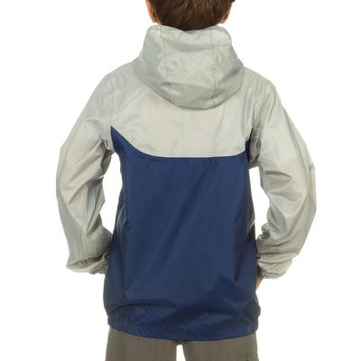 Hike 150 Children's Waterproof Hiking Jacket - Navy Blue