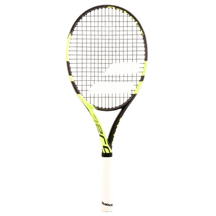 Tennisracket volwassenen Babolat Pure Aero geel zwart - 807889